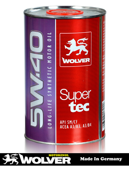 SUPERTEC SAE 5W-40 (1L)