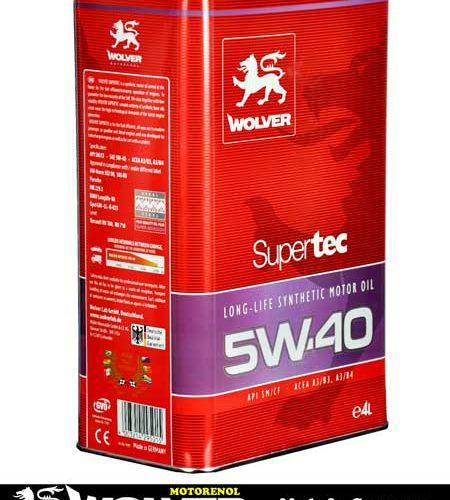 SUPERTEC SAE 5W-40